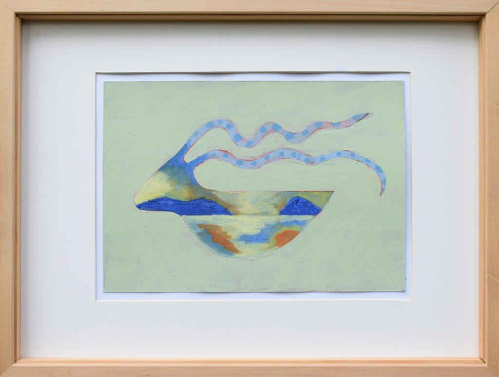 "Peter Huf, ""ohne Titel"", 30 x 40 cm (gerahmt), 450 EUR"