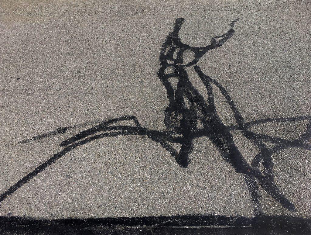 """Bernhard Jott Keller, """"Der zweidimensionale Läufer"""", Fotografie, 60 x 80 cm, 250 EUR"""