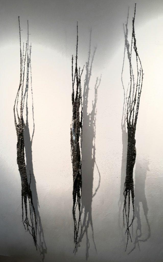 """""""3 Formen"""", Eisen, 160 x 75 x 12 cm, 2015, M. Buchenberg"""