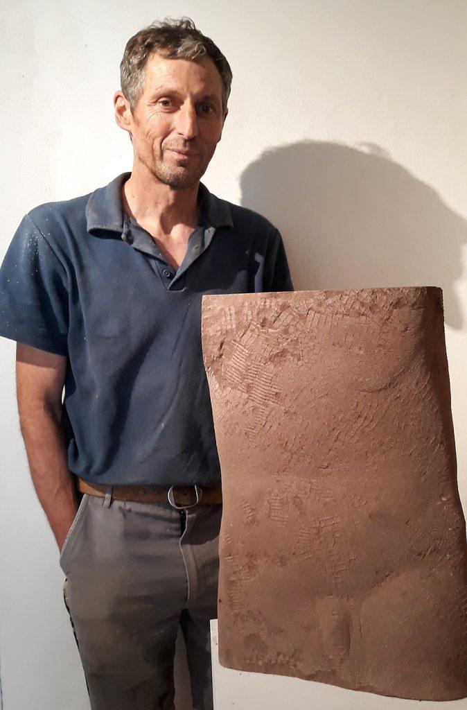 """""""Torso"""", Sandstein, 58 x 40 x 60 cm, 2017, M. Buchenberg"""