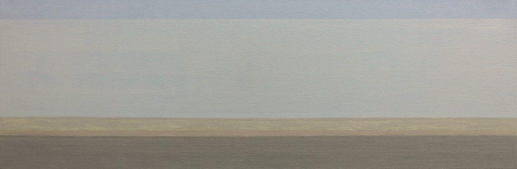 """Joram von Below, """"Panorama Nr. 2"""", Öl auf Leinwand, 30 x 90 cm, 660 €"""